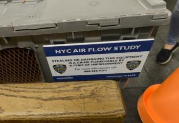 NYPD and Brookhaven Lab Conduct Airflow Study in Subway
