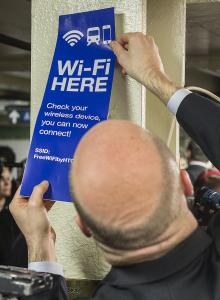 WIRELESS SERVICE HAS ARRIVED AT 30 ADDITIONAL UNDERGROUND SUBWAY STATIONS