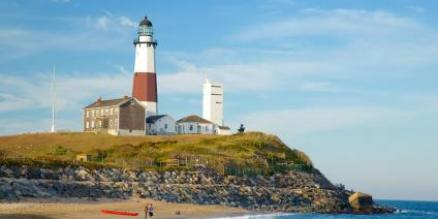 Visit scenic Montauk Lighthouse