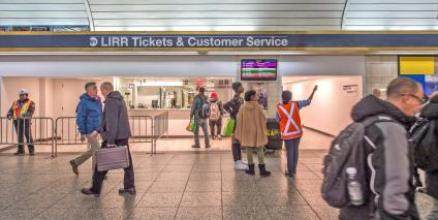 LIRR Penn Station Ticket Office Temporarily Relocated