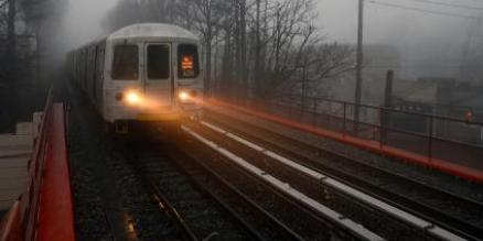 MTA Staten Island Railway deploys special equipment to clean leaf residue off tracks